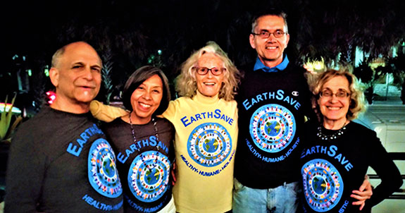 EarthSave Tee-Shirts - the Human Billboard photo for CGCC and Tamarac Events