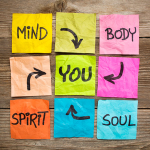 Mind, Body, Soul and Sprit - it all leads back to YOU