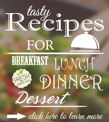 Tasty recipes for breakfast, lunch, dinner and even dessert - all healthy, all vegan!