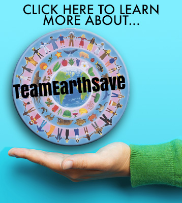 Team EarthSave - working together to save the planet.